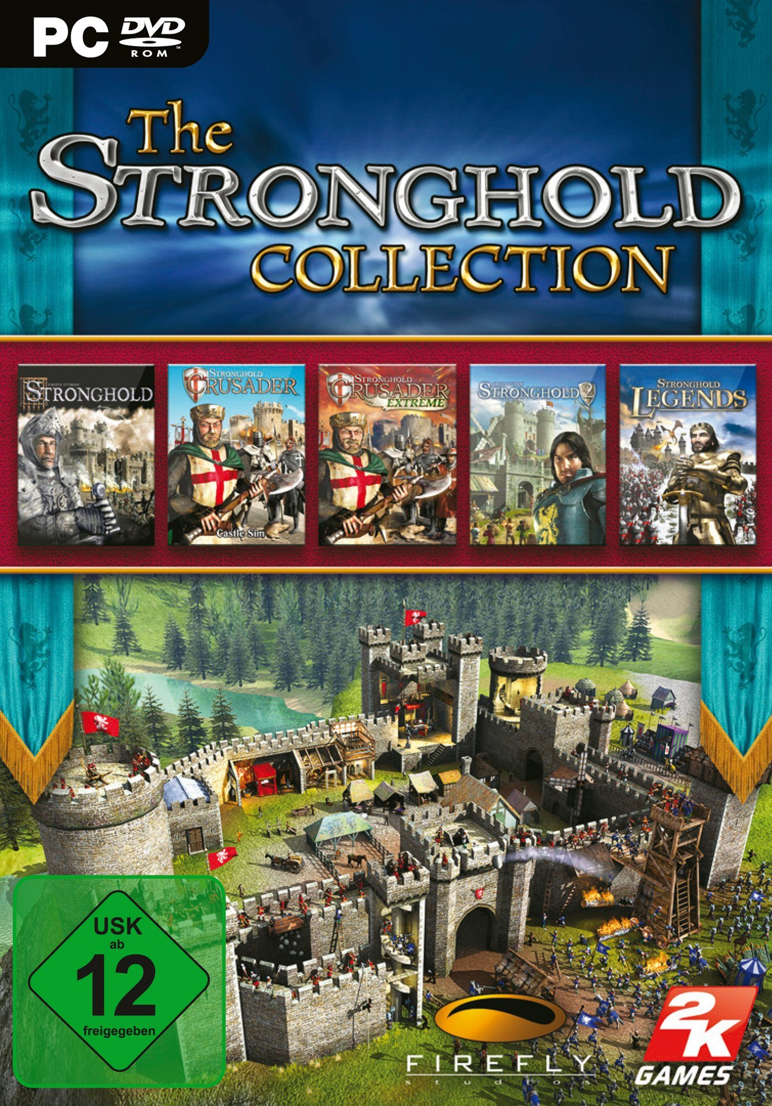 Take Two Software Pyramide - PC Spiel »The Stronghold Collection«